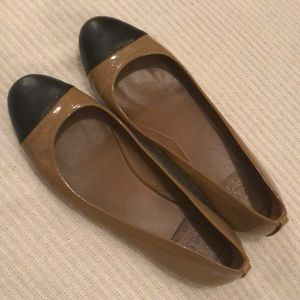 Tory Burch Patent Leather Flats, Size 9